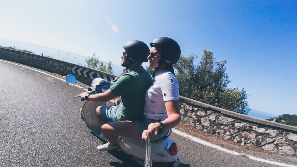 The Vespa Trip Campania