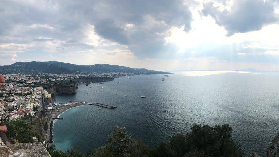 Uitzicht over Sorrento