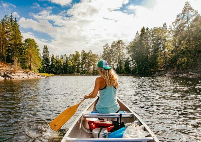 Mit dem Kanu durch Südschweden