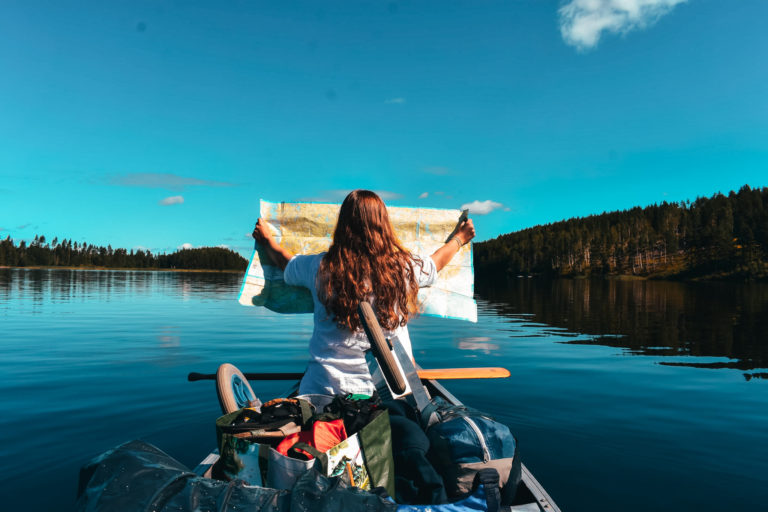 75 km kanoën in de Zweedse bossen