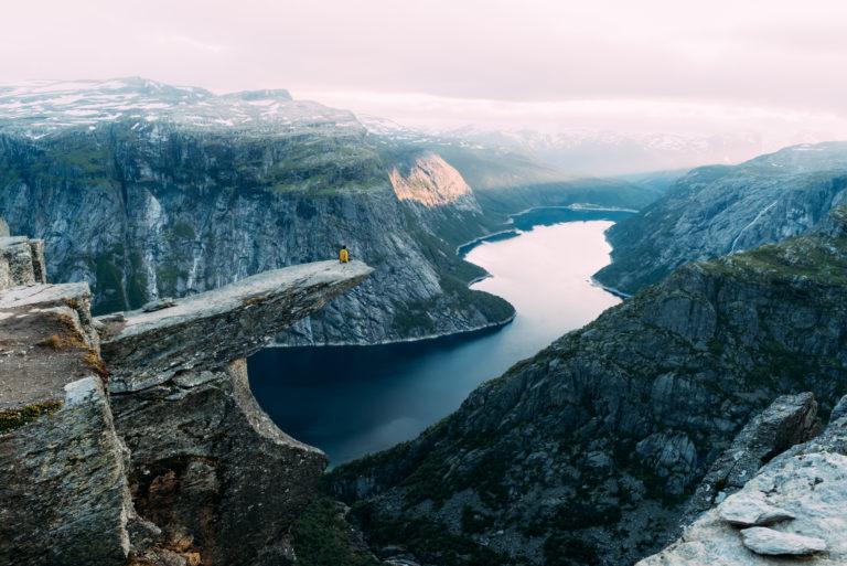 Trekking à travers l'Hardangervidda